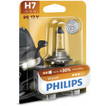 Bec auto PHILIPS H7 Vision+30%, 55W, blister 1 bucata