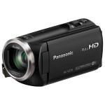 Camera video PANASONIC HC-V270, 50x, 2.7 inch, HDMI, Wi-Fi, negru