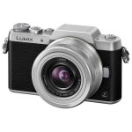 Camera foto mirrorless PANASONIC DMC-GF7, 16Mp, 3 inch + obiectiv 12-32mm, silver