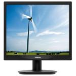 "Monitor LED PHILIPS 17S4LSB/00, 17"", 1280 x 1024p, negru"