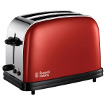 Prajitor de paine RUSSELL HOBBS Flame Red 18951-56, 1100W, rosu