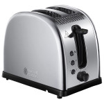 Prajitor de paine RUSSELL HOBBS 21290-56, 1100W, argintiu
