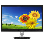 "Monitor LED PHILIPS 271P4QPJKEB, 27"", Full HD, Webcam 2MP, negru-gri"