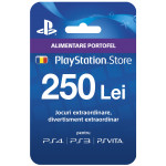 PlayStation Network Card, 250lei (PSN CODE - CONT RO)