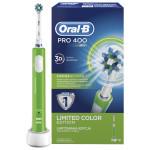 Periuta de dinti cu acumulator BRAUN Oral-B PRO 400 Cross Action, verde