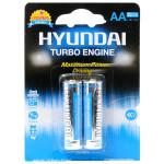 Baterie alcalina HYUNDAY Turbo LR6, AA, 2 bucati