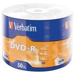DVD-R VERBATIM 43788, 16x, 4.7GB, 50buc - Shrink