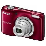 Camera foto digitala NIKON Coolpix L31, 16.1 Mp, 5x, 2.7 inch, rosu