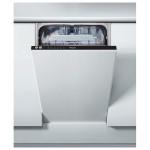 Masina de spalat vase incorporabila WHIRLPOOL ADG 201, 10 seturi, 45 cm, 6 programe, A++