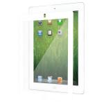Folie de protectie MOSHI iVisor XT Clear pentru iPad 2, iPad 3, iPad 4, rama alba
