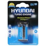 Baterie alcalina HYUNDAI Turbo 6LR61, AAA, 1 bucata