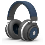 Casti Bluetooth on-ear cu microfon PROMATE Astro, Blue