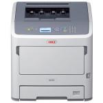Imprimanta laser monocrom OKI B721dn, A4, USB, Retea, alb