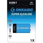 Baterie alcalina 9V OKKAIDO BA-050