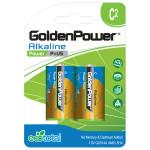 Baterii alcaline GOLDEN POWER Plus, LR14(C), 2 bucati