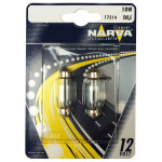 Bec auto halogen NARVA 173144000, C10W, 12V, 10W, SV8.5, T10,5*42, set 2 bucati