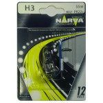 Bec auto proiector halogen NARVA 483214000, H3 standard, 121V, 55W, PK22s, blister 1 bucata