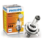 Bec far PHILIPS Vision 12342PRC1, +30%, H4, 12V, 55W