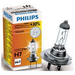 Bec far PHILIPS Vision 12972PRC1, +30%, H7, 12V, 55W