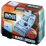 Set 50 accesorii insurubare/ gaurire BLACK & DECKER A6988