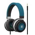 Casti on-ear PROMATE Boom, Blue