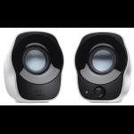 Boxe LOGITECH Z120, 2.0, 1.2W, PC, alb