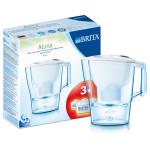 Pachet starter BRITA Aluna - Cana filtranta + 3 filtre Maxtra