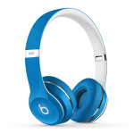 Casti on-ear cu microfon BEATS Solo2 Luxe Edition, Blue