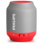 Boxa portabila PHILIPS BT25G/00, 2W, Bluetooth, Rosu