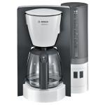 Cafetiera BOSCH ComfortLine TKA6A041, 1.25l, 1200W, alb-gri inchis
