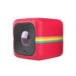 Camera video de actiune Cube Full HD POLAROID, rosu