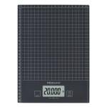 Cantar de bucatarie MEDISANA KS240 XL 40468, 20kg, afisaj LCD, functie Hold, functie TARA, negru