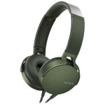 Casti on-ear cu microfon SONY MDR-XB550APG, Verde