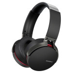 Casti tip DJ Bluetooth SONY MDR-XB950BT, Wireless, NFC, Negru