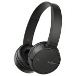 Casti on-ear cu microfon Bluetooth SONY MDR-ZX220BTB, NFC, negru