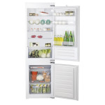 Combina frigorifica incorporabila HOTPOINT BCB 7030  D AA, 275l, A+, argintiu