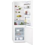 Combina frigorifica incorporabila AEG SCS51800S1, 277l, A+, alb
