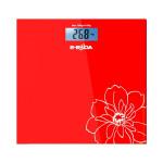Cantar de persoane EBODA CEP1111, electronic, 150kg, sticla, rosu