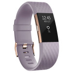 Bratara Fitness FITBIT Charge 2 Lavender Rose Gold, Large