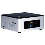 Sistem IT INTEL NUC5PGYH, Intel® Pentium® N3700 pana la 2.4GHz, 2GB, eMMC 32GB, Intel® HD Graphics, Windows 10