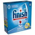 Tablete FINISH Powerball Classic Lemon, 32 buc