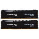 Memorie desktop KINGSTON HyperX Savage Black 2X4GB DDR4, 2133MHz, CL13, HX421C13SBK2/8