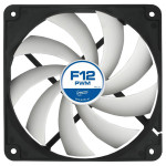 Ventilator ARCTIC F12 PWM rev.2, 120mm, 600-1350rpm, 4-pin PWM