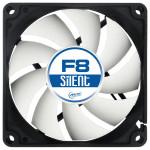Ventilator ARCTIC F8 Silent, 80mm, 1200rpm, 3-pin