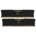 Memorie desktop Corsair Vengeance LPX Black 2x8GB DDR4, 2400MHz, CL16, CMK16GX4M2A2400C16