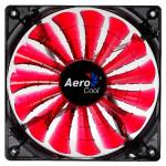 Ventilator Aerocool Red Lighthing LED Edition, 120mm, EN51363