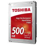 Hard Disk desktop TOSHIBA P300 500GB, SATA3, 7200rpm, 64MB, HDWD105UZSVA