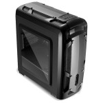 Carcasa SEGOTEP Polar Light negru, 2 x USB 2.0, 1 x USB 3.0, mATX, POLARLGH-BK