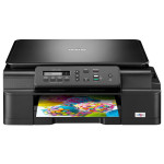 Multifunctional inkjet BROTHER DCP-J105, A4, USB, Wi-Fi