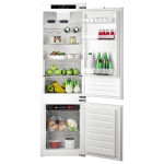 Combina frigorifica incorporabila HOTPOINT BCB 7525 E C AA, 286l, A+, argintiu
